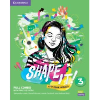 Shape It Level 3 Full Combo Students Book and Workbook with Practice Extra by Lewis & SamanthaVincent & DanielCornford & AnnieReid & Andrew
