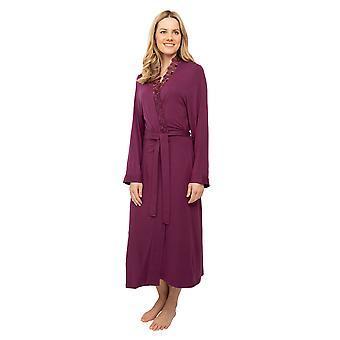 Cyberjammies Nora Rose Jennifer 1454 Mujeres's Púrpura Larga Robe