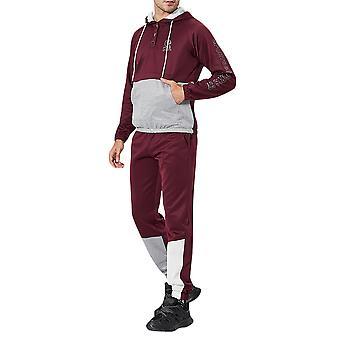 Allthemen Men's Casual Fashion Zipper Long Sleeve Sports Suit Autumn