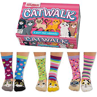 United Oddsocks Catwalk Socks Gift Set For Women