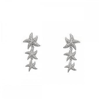 Hete diamanten sterling zilver eeuwige liefde drop oorbellen DE601