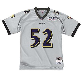 Mitchell & Ness Nfl Baltimore Ravens Ray Lewis Platinum Legacy Silver Jersey