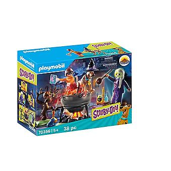 Playmobil 70366 scooby doo! adventure in the witch's cauldron
