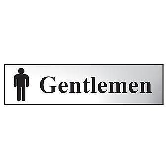 Scan Gentlemen - Polished Chrome Effect 200 x 50mm SCA6003C