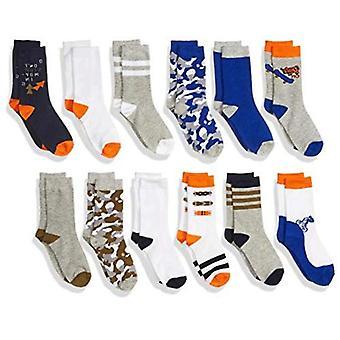 Brand - Spotted Zebra Boys Crew Socks