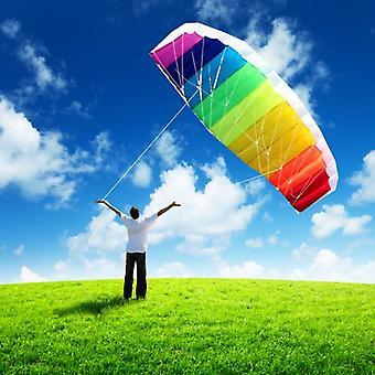 Zweizeilige Regenbogen Parafoil Kite