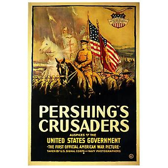 Pershings Crusaders film affisch Skriv (27 x 40)