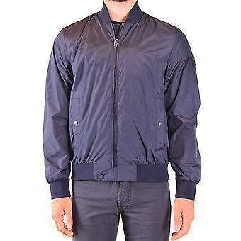Woolrich Ezbc033058 Men's Blue Nylon Outerwear Jacket