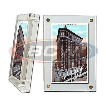 BCW Acrylic Card Holder Postcard
