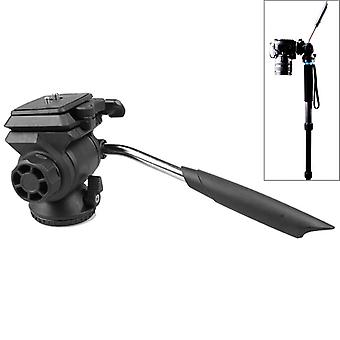 Q111 Vaimennus video ammunta muovinen jalusta pää kameroille / SLR-kameroille