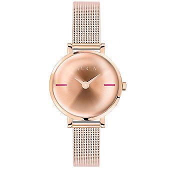 Furla Kvinder'S Rose Gold Dial Stainle Steel Watch