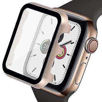 Metal Shell para Apple Watch Protector Pantalla Película protectora Iwatch Transparente
