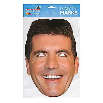 Máscara-arade Simon Cowell Máscara facial
