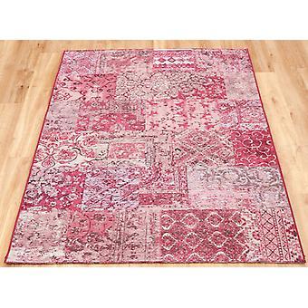 Petra roze tapijt