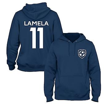 Erik Lamela 11 Club Style Player Football Hoodie
