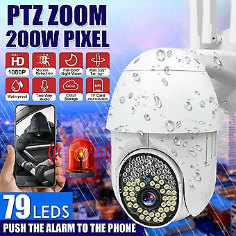 79LEDS 1080P HD IP اللاسلكية PTZ الدوائر التلفزيونية المغلقة في الهواء الطلق كاميرا واي فاي الأمن ماء الأشعة تحت الحمراء ليلة الكاميرا