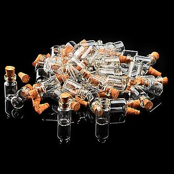 Clear Glass Wish Bottle (50pcs)