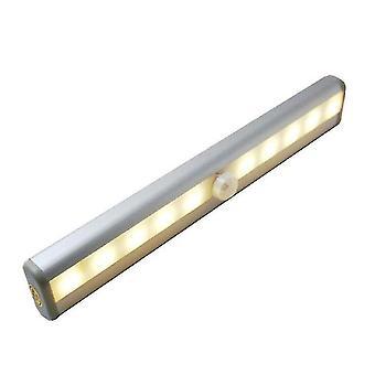 Liiketunnistin Valo Ihmiskehon induktio kaapin valojen alla Ohjaus Yövalo Magneettinen Led-valaistus