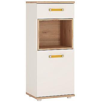 Kiddie 1 Door 1 Drawer Narrow Cabinet