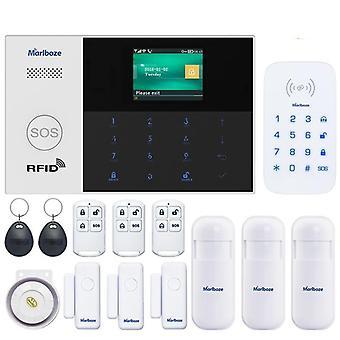 Wifi Gsm- الذكية الحياة التطبيق التحكم عن بعد، ومكافحة العبث تنبيه السلكية، ونظام الإنذار