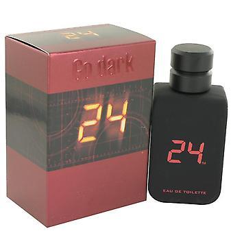 24 Go Dark The Fragrance Eau De Toilette Spray By Scentstory 3.4 oz Eau De Toilette Spray