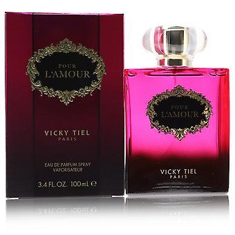 Vicky Tiel Pour L'amour Eau De Parfum Spray By Vicky Tiel 3.4 oz Eau De Parfum Spray