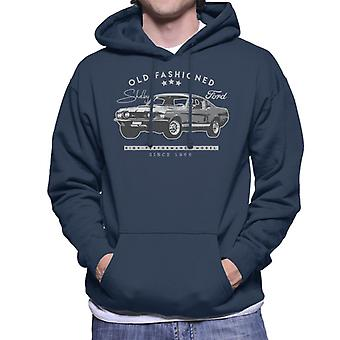 Ford Shelby Old Fashioned Men's Hooded Sweatshirt