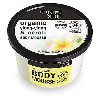 Organic Shop Mousse Corporal de Flor de Bali 250 ml