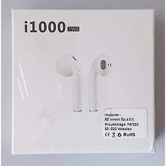 Auriculares i1000 TWS Bluetooth 5.0, IPX5 a prueba de soldadura, Calidad HD - iOS, Android