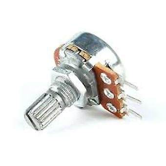 5 Pcs/lot Potentiometer Resistor 1k-500k Ohm 3 Pin Linear Taper Rotary