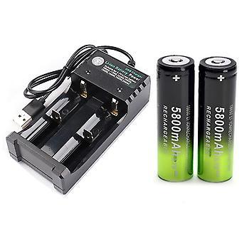 Chargeur de batterie intelligent pour lampe de poche