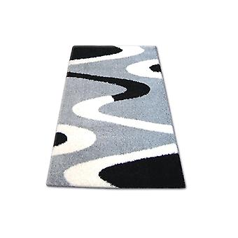 Rug SHAGGY ZENA 3310 grey / black