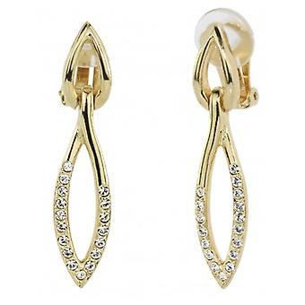 Traveller Drop Clip Earring Gold Plated - 157391 - 861