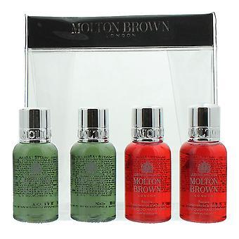 Molton Brown 2 x Hand Wash 30ml & 2 x Body Wash 30ml Gift Set