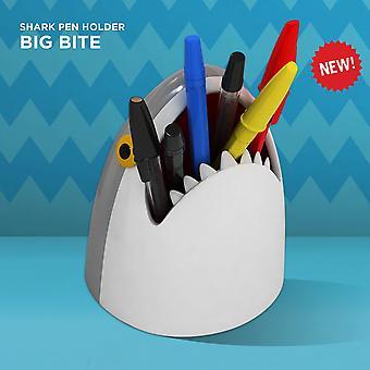 Mustard - big bite shark pen pot