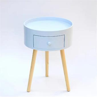 Bedside Cabinet Round Furniture Simple Modern Circle Tables