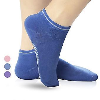 SPORX Non Slip Yoga Socks for Women(2 Pairs)-Blue