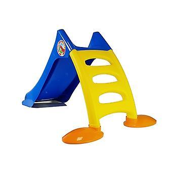 Glijbaan 75 cm met ladder – Blauw geel