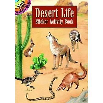 スティーブン・ジェームズ・ペトルッチョによる砂漠の生活ステッカー活動ブック