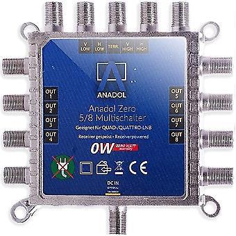 FengChun [Test 2X SEHR GUT *] Zero Watt - Stromloser Multischalter für Satellit 5/8 für 8