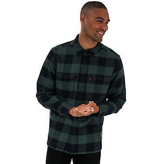 Herren Levis Classic Worker Shirt in grün