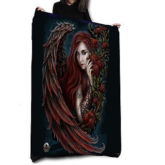 DAMON IN ROSA - Fleece Blanket / Throw / Tapestry