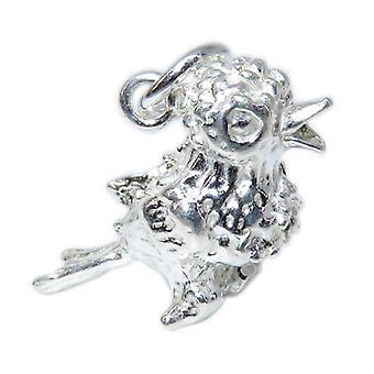 Bird Sterling Silver Charm .925 X 1 Chicks & Birds Charms - 15338