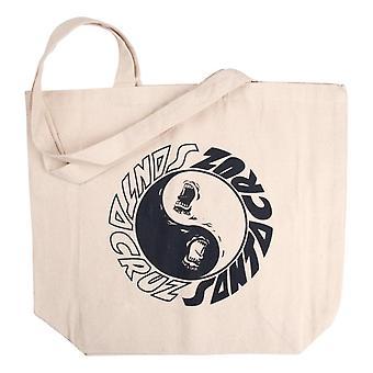 Santa Cruz Scream Ying Yang Tote Bag - Natural