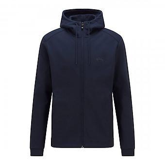 Boss Green Hugo Boss Saggy Navy Zip Up Hoody Sweatshirt 50455083