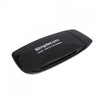 Simplecom Cr307 Superspeed Usb 3 Kortinlukija 4-paikka cf:llä