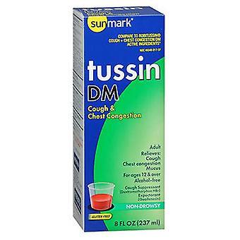 Sunmark Sunmark Tussin Dm Cough & Chest Congestion Liquid, 8 oz