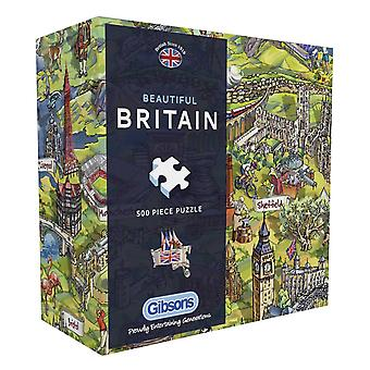 Gibsons Beautiful Britain Jigsaw Puzzle in Gift Box  (500 Pieces)