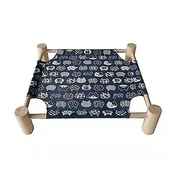 Detachable Elevated Dog Bed No-slip Cool Breathable Durable(Cat)