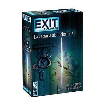 Board game Exit La Cabaña Abandonada Devir (Spanish) (ES)